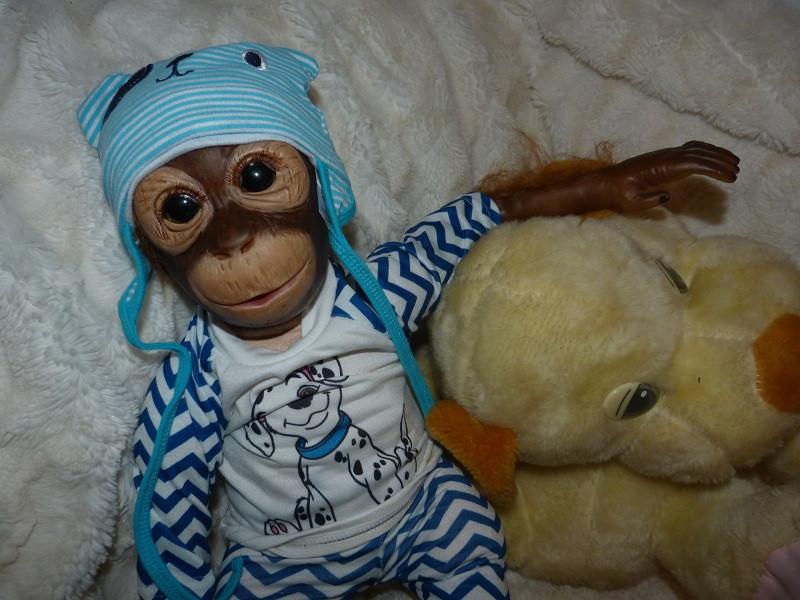 Reborn opička 30